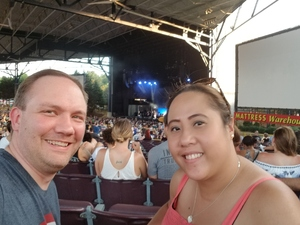 Michael attended 8 Tour - Incubus With Special Guests Jimmy Eat World and Judah and the Lion - Reserved Seats on Jul 12th 2017 via VetTix