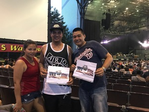 Reese attended 8 Tour - Incubus With Special Guests Jimmy Eat World and Judah and the Lion - Reserved Seats on Jul 12th 2017 via VetTix