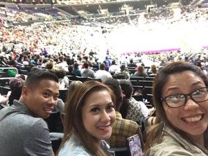 Joseph attended Los Angeles Sparks vs. Connecticut Sun - WNBA on Jul 13th 2017 via VetTix