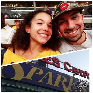 PAUL attended Los Angeles Sparks vs. Connecticut Sun - WNBA on Jul 13th 2017 via VetTix