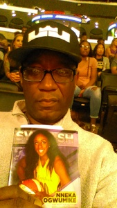 True Sparks Navy Fan! attended Los Angeles Sparks vs. Connecticut Sun - WNBA on Jul 13th 2017 via VetTix