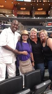 James Petty attended Los Angeles Sparks vs. Dallas Wings - WNBA on Jul 30th 2017 via VetTix