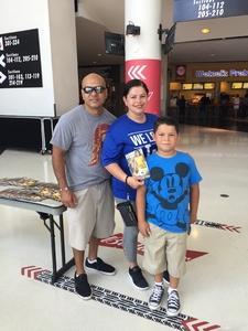 Juan attended Los Angeles Sparks vs. Dallas Wings - WNBA on Jul 30th 2017 via VetTix