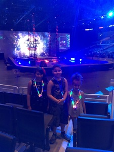 johnny attended Marvel Universe Live! Age of Heroes - Tickets Good for Sunday 3: 00 Pm Show Only on Jul 9th 2017 via VetTix