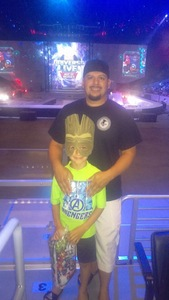 Michael attended Marvel Universe Live! Age of Heroes - Tickets Good for Sunday 3: 00 Pm Show Only on Jul 9th 2017 via VetTix