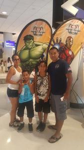 Miguel attended Marvel Universe Live! Age of Heroes - Tickets Good for Sunday 3: 00 Pm Show Only on Jul 9th 2017 via VetTix
