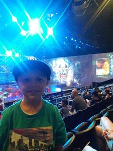 David attended Marvel Universe Live! Age of Heroes - Tickets Good for Sunday 3: 00 Pm Show Only on Jul 9th 2017 via VetTix