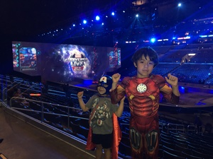 Roberto attended Marvel Universe Live! Age of Heroes - Tickets Good for Sunday 3: 00 Pm Show Only on Jul 9th 2017 via VetTix
