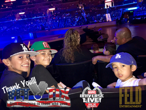 VICTOR attended Marvel Universe Live! Age of Heroes - Tickets Good for Sunday 3: 00 Pm Show Only on Jul 9th 2017 via VetTix