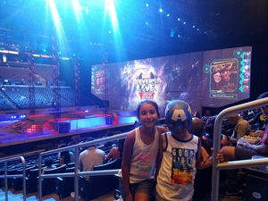 Jose attended Marvel Universe Live! Age of Heroes - Tickets Good for Sunday 3: 00 Pm Show Only on Jul 9th 2017 via VetTix