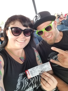 Beth World attended Korn With Special Guest Stone Sour - the Serenity of Summer - Reserved on Jul 19th 2017 via VetTix
