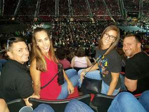 Norman attended Total Package Tour - New Kids on the Block With Paula Abdul and Boyz II Men on Jul 11th 2017 via VetTix