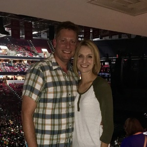 James attended Total Package Tour - New Kids on the Block With Paula Abdul and Boyz II Men on Jul 11th 2017 via VetTix