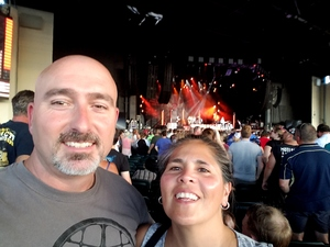 DAVID attended United We Rock Tour 2017 - Styx and Reo Speedwagon With Don Felder - Reserved Seats on Jul 30th 2017 via VetTix