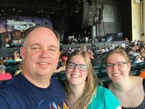 Keith attended United We Rock Tour 2017 - Styx and Reo Speedwagon With Don Felder - Reserved Seats on Jul 30th 2017 via VetTix