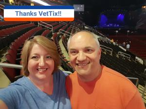 David attended Daryl Hall and John Oates and Tears for Fears With a Special Acoustic Performance by Allen Stone on Jul 17th 2017 via VetTix