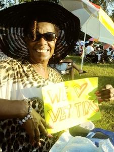 pamela attended Throwback Concert on Aug 12th 2017 via VetTix
