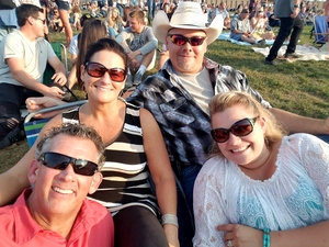 Michael attended Brad Paisley With Special Guest Dustin Lynch, Chase Bryant, and Lindsay Ell - Lawn Seats on Aug 11th 2017 via VetTix