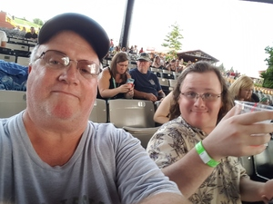 Joel attended Brad Paisley With Special Guest Dustin Lynch, Chase Bryant, and Lindsay Ell - Lawn Seats on Aug 11th 2017 via VetTix