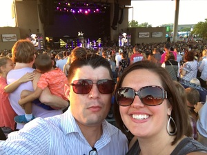 Andy F attended Brad Paisley With Special Guest Dustin Lynch, Chase Bryant, and Lindsay Ell - Lawn Seats on Aug 11th 2017 via VetTix