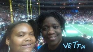 Juanita attended Philadelphia Soul vs. Tampa Bay Storm - AFL on Aug 5th 2017 via VetTix