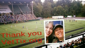 Dinah attended Seattle Reign FC vs. NC Courage - NWSL on Aug 13th 2017 via VetTix
