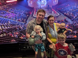 Curtis attended Marvel Universe Live! Age of Heroes - Tickets Good for Sunday 5: 00 Pm Show Only on Aug 6th 2017 via VetTix
