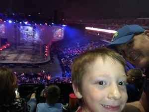 Shawn attended Marvel Universe Live! Age of Heroes - Tickets Good for Sunday 5: 00 Pm Show Only on Aug 6th 2017 via VetTix