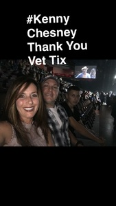 Michael Rondinone attended Kenny Chesney With Special Guest Midland on Aug 10th 2017 via VetTix