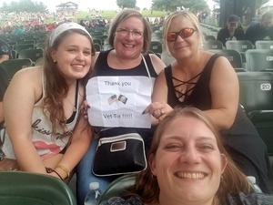 Michelle attended Nickelback - Feed the Machine Tour With Special Guest Daughtry and Shaman's Harvest - Reserved Seats on Aug 7th 2017 via VetTix