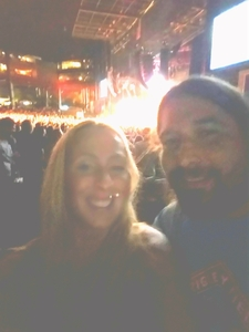 Ashley attended Kings of Leon With Special Guest Nathaniel Rateliff and the Night Sweats - Reserved Seats on Aug 12th 2017 via VetTix
