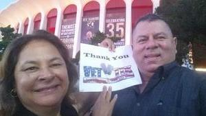 Alejandro attended Neil Diamond - the 50 Year Anniversary World Tour on Aug 10th 2017 via VetTix