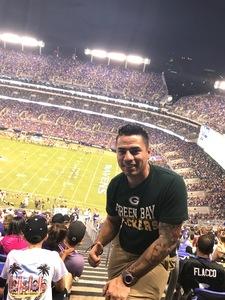 Ernesto attended Baltimore Ravens vs. Washington Redskins - NFL Preseason on Aug 10th 2017 via VetTix