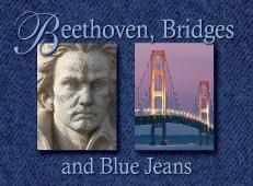 We are giving out 20 tickets to Beethoven, Bridges and Blue Jeans - Season Opener - Presented By The Michigan Philharmonic - Saturdayon Oct 4th 2014