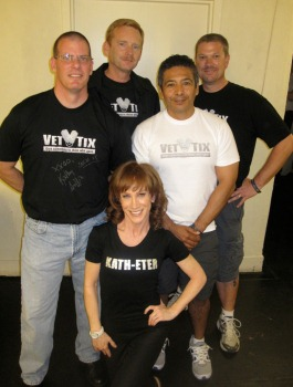 We are giving out 6 tickets to Kathy Griffin Live - Fox Theatre Redwood City - EARLY SHOWon Dec 13th 2014