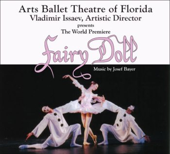We are giving out 4 tickets to Fairy Doll Ballet performed by Arts Ballet Theatre of Floridaon Mar 15th 2015