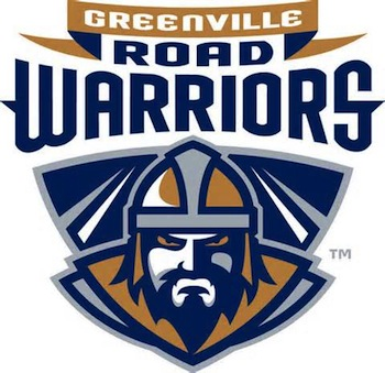 Greenville Road Warriors vs. Evansville Icemen - ECHL - Friday Greenville, SC - Friday, April 10th 2015 at 7:00 PM 16 tickets donated