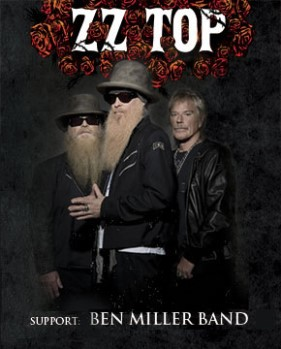 We are giving out 40 tickets to ZZ Top and The Ben Miller Bandon Mar 29th 2015