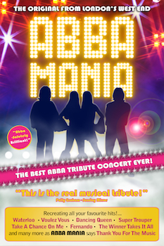 Abba Mania - Presented by the Orpheum Theatre - Monday Wichita, KS - Monday, March 9th 2015 at 7:30 PM 40 tickets donated