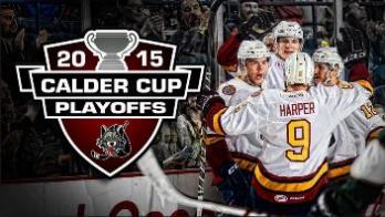 Chicago Wolves vs. Utica Comets - AHL Rosemont, IL - Wednesday, April 22nd 2015 at 7:00 PM 25 tickets donated