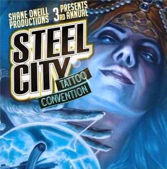Steel city tattoo convention pittsburgh pa friday for Tattoo convention pa