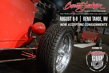 3rd Annual Hot August Nights Auction Presented by Barrett - Jackson - 1 Ticket Is Good for 2 People Reno, NV - Thursday, August 6th 2015 at 9:00 AM 200 tickets donated
