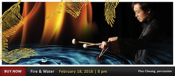 We are giving out 16 tickets to Fire and Water - Symphonic Series - Presented by the Eugene Symphony - Thursdayon Feb 18th 2016