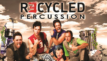 We are giving out 4 tickets to Recycled Percussion - Saturday Showon Jul 30th 2016