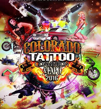 We are giving out 30 tickets to Colorado Tattoo Convention and Expoon Oct 1st 2016