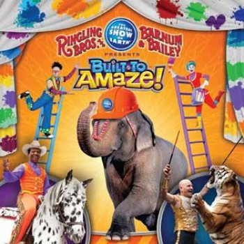We are giving out 20 tickets to Ringling Bros Barnum & Bailey Circus presents BUILT TO AMAZE...Thomas & Mack Centeron Jun 13th 2013