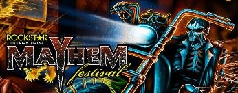 We are giving out 20 tickets to Rockstar Energy Drink Mayhem Festivalon Jun 29th 2013