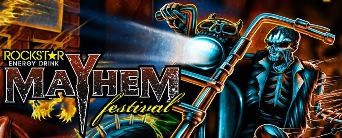 We are giving out 20 tickets to Rockstar Energy Drink Mayhem Festivalon Jul 12th 2013
