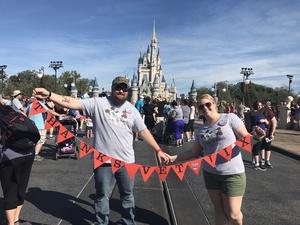 Colby attended Walt Disney World Orlando  on Feb 16th 2017 via VetTix