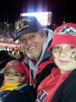 GREGORY attended University of New Mexico Lobos vs. Colorado State - NCAA Football on Nov 16th 2013 via VetTix